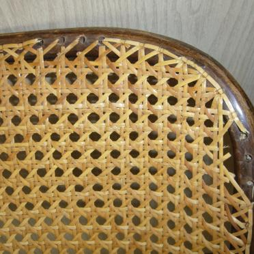 Repair of caned chairs